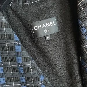 Chanel coat with belt
